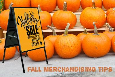 Fall outdoor merchandising tips