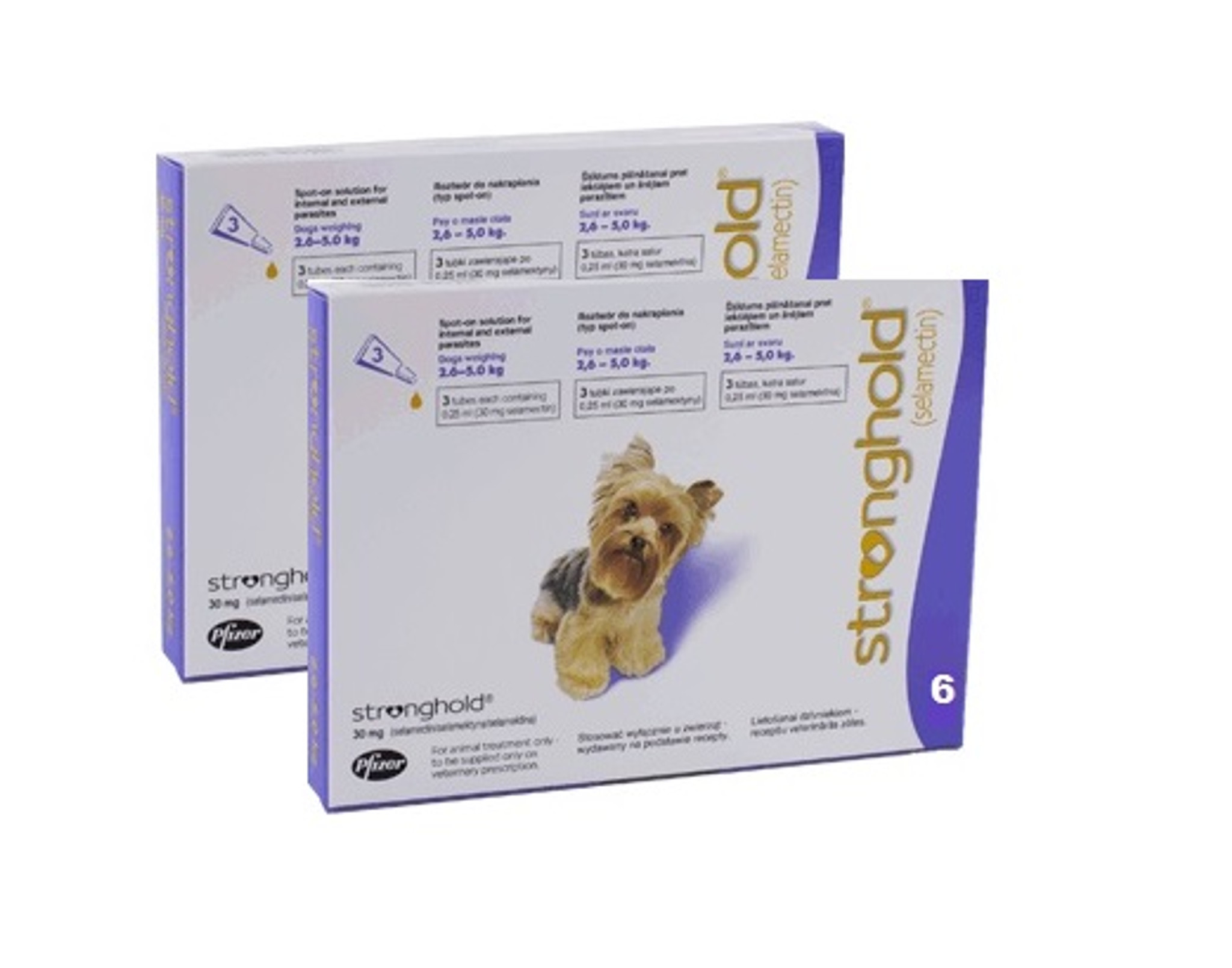 Stronghold For Dogs 5 1 10 Lbs Violet 12 Pack Sierra Pet