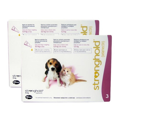 Stronghold for Puppies & Kittens - 6 Pack