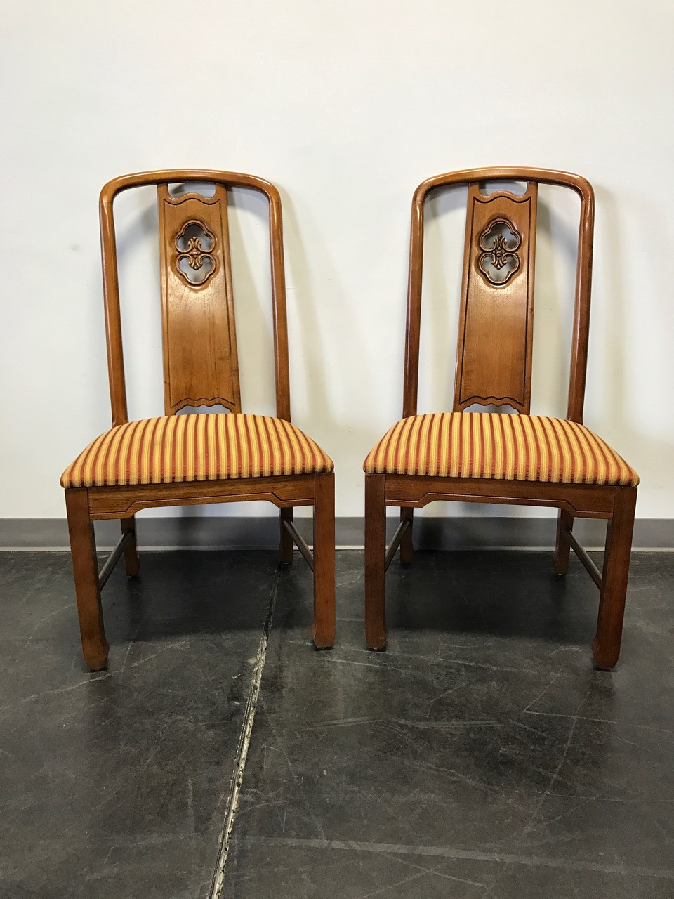 SOLD OUT THOMASVILLE Mystique Asian Influenced Dining Side Chairs