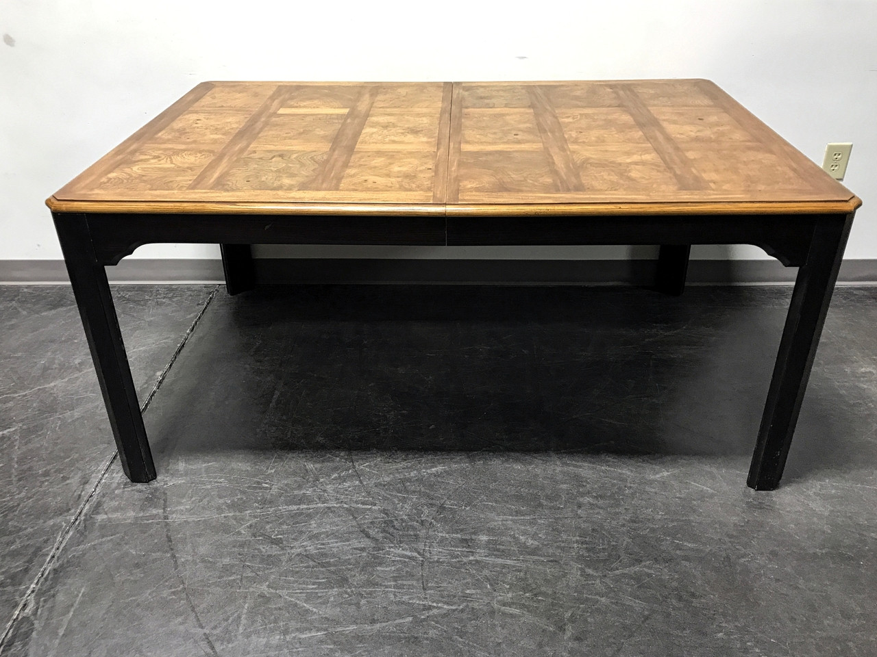 """SOLD OUT Stanley """"Kyoto"""" Vintage Asian Style Dining Table with"""
