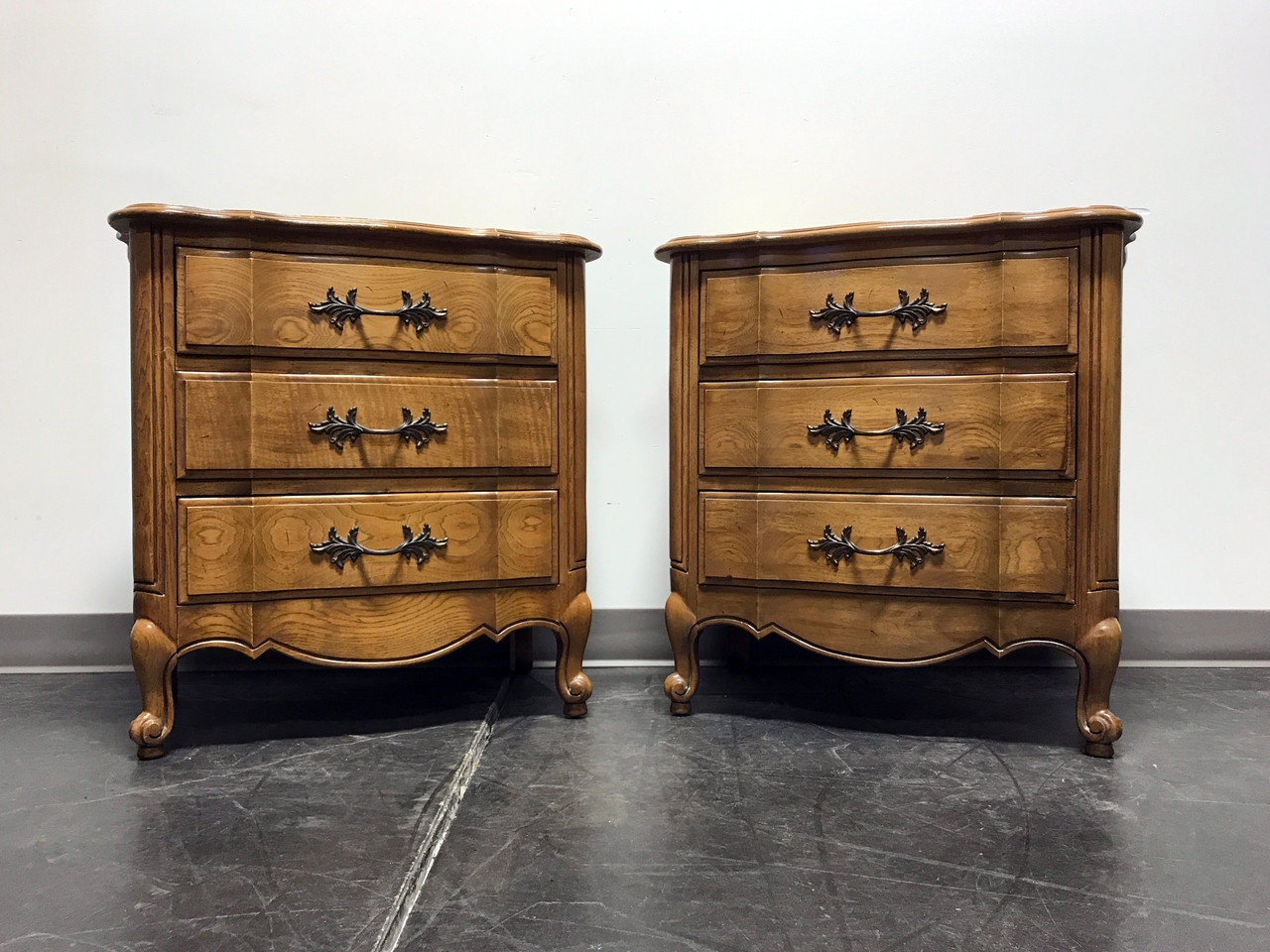 """SOLD OUT CENTURY FURNITURE Chermont French Country 27"""" Nightstands"""