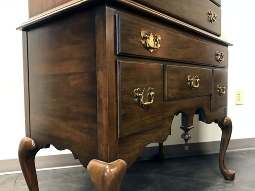 PENNSYLVANIA HOUSE Solid Cherry Queen Anne Highboy Chest Boyd s