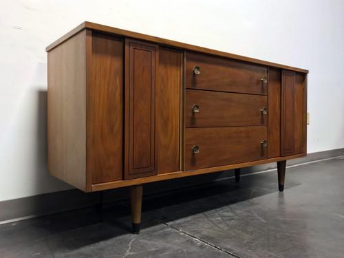 Elegant Mid Century Modern Tall Cabinet
