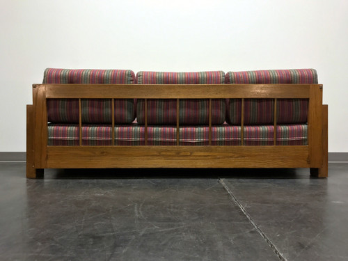 sold out mid century modern mcm wooden frame sofa - Wood Frame Sofa