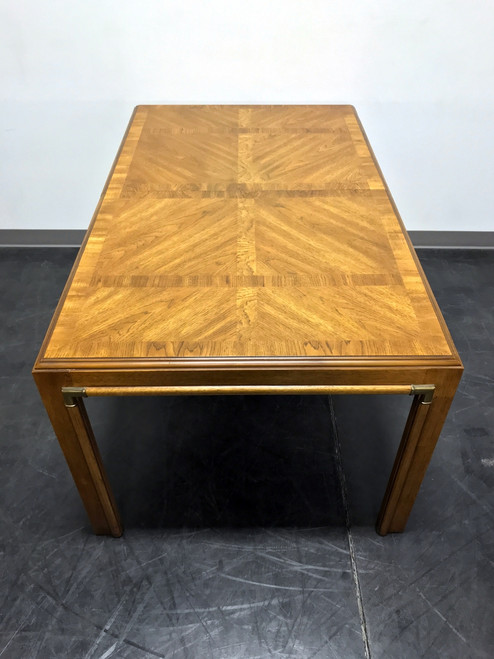 DREXEL HERITAGE Accolade Campaign Style Dining Table II Boyd s