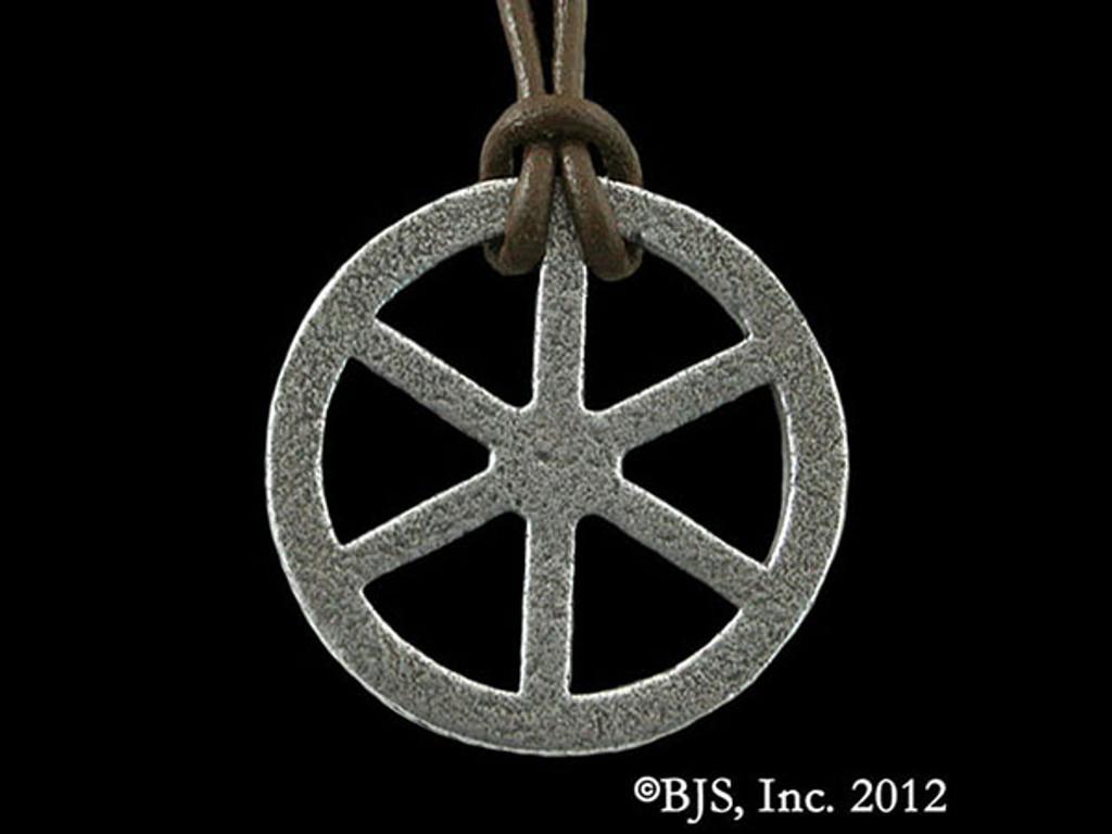 Telhu's Iron Wheel Pendant