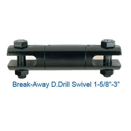 "CX08025500 Break-Away D.Drill Directional Drilling Swivel Size 1-5/8"" Break Load 7500"