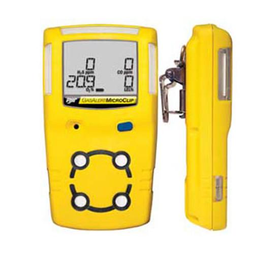 BW MCXL-XWHM-B-NA MicroClip XL 4-Gas Detector O2, LEL, H2S, CO