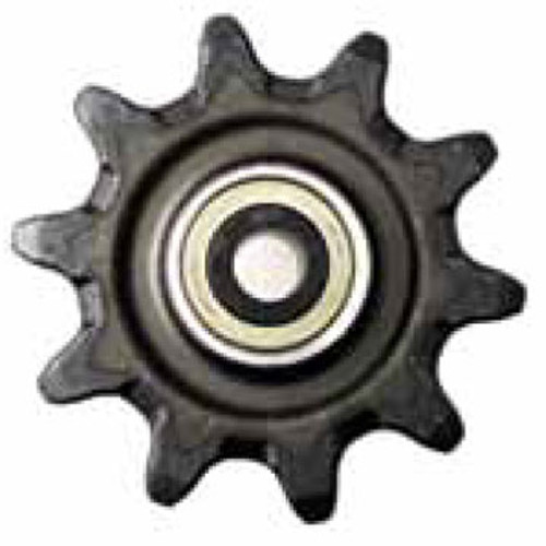 """DW140-665 10 Tooth One Piece Hex Auger Sprocket with 5.625"""" Hub Length 3.067"""" Chain"""