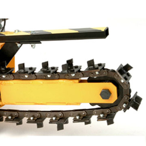 """GH15004S21 21 Station 4"""" Wide, Welded Shark/Scorpion Chain (18"""" Boom)"""