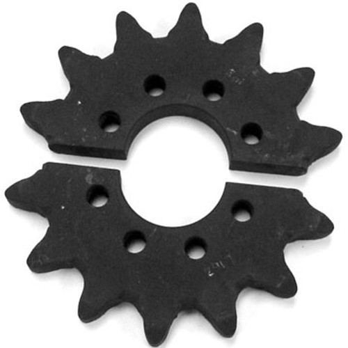 "DW142-026 14 Tooth Split Head Shaft Drive Sprocket .625"" Holes"