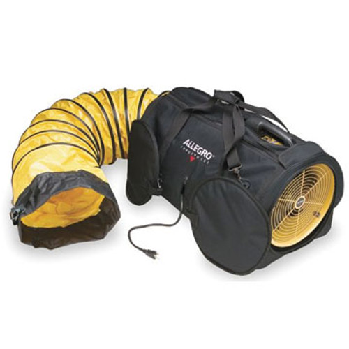 """PS 9535-08 8"""" Compact Electric Blower 15' Hose 700 CFM (Free Air)"""