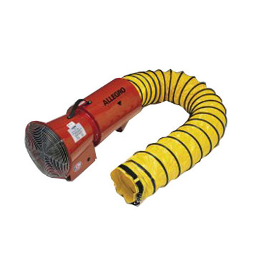 """PS 9514 8"""" Blower, Electric w/15' Hose and Mounted Canister, 120vAC, 1/3hp"""