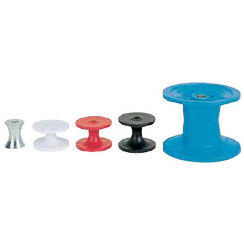 Condux Replacement Rollers for aerial cable blocks and hangers.