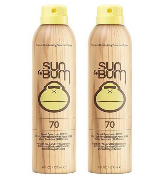 AMAZ SUNSCREEN  Sun Bum Continuous Spray Sunscreen, SPF -70, 6oz