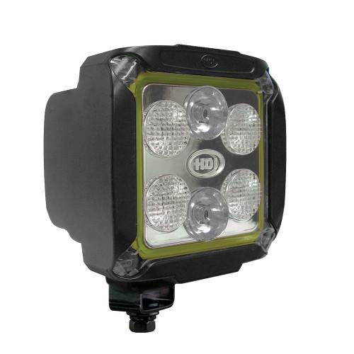 14-watt HDI Series LED Equipment Light, Spot/Wide Beam