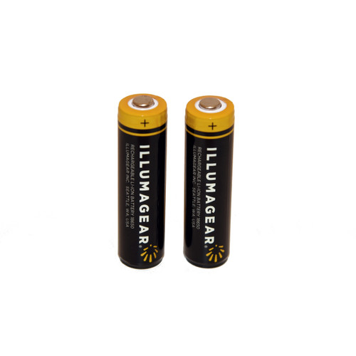 Lithium Ion Rechargeable Batteries (2-Pack) For Halo