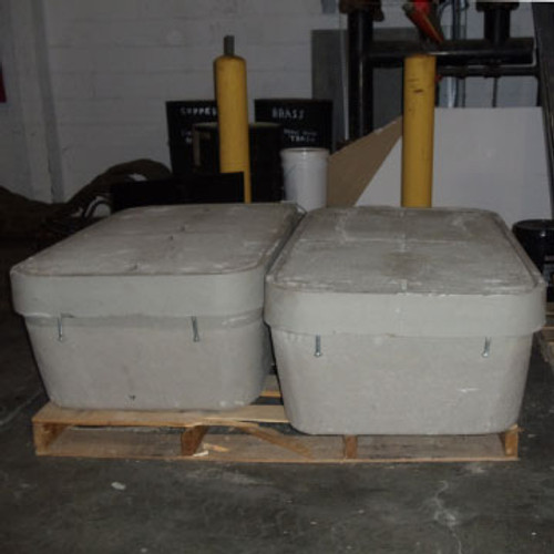 CDR 304818W 30''x48''x18'' Box with Lid