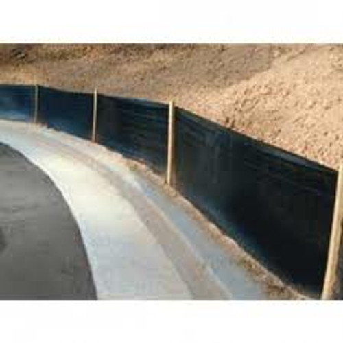 """SF 01 36'' Silt Fence Standard 13 Stakes 100' Commercial Grade with 48"""" Stakes on 8' Centers"""