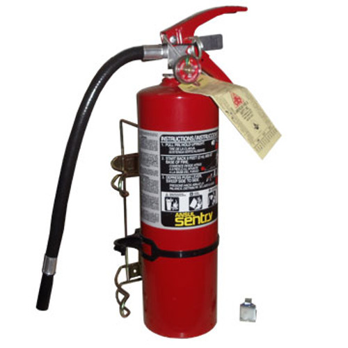 SP FE-552127 5.00 # Fire Extinguisher with Spring Clip Mounting Bracket