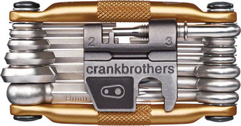 Crank Brothers Multi-19 Tool: Gold