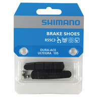 Shimano R55C3 Brake Shoes (Inserts and Fixing Bolts)