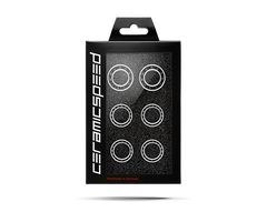 CeramicSpeed Wheel Bearing Upgrade Kit, Zipp-7 (77 Rear / 177 Front Hubs)