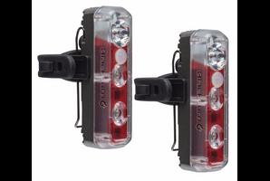 Blackburn 2'Fer XL Front/Rear USB Rechargeable Lights