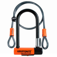 Kryptonite Evolution Mini U Lock with Cable sport factory