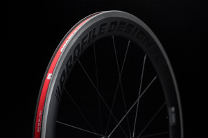 Profile 58 Twenty Four ii Carbon Clincher Wheels and Wheelsets rim track