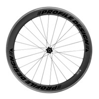 Profile 58 Twenty Four ii Carbon Clincher rear Wheel