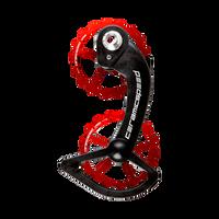 CeramicSpeed Shimano 10/11 Speed OSPW Kit Red sport factory