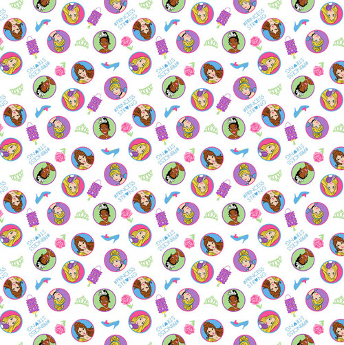 Disney Princess Knit by Springs Creative