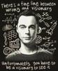 Big Bang Theory Visionary Shaded T-Shirt