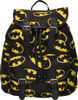 Batman Multi Logo Flap Top Backpack