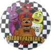 Five Nights at Freddy's Group Checkerboard Button