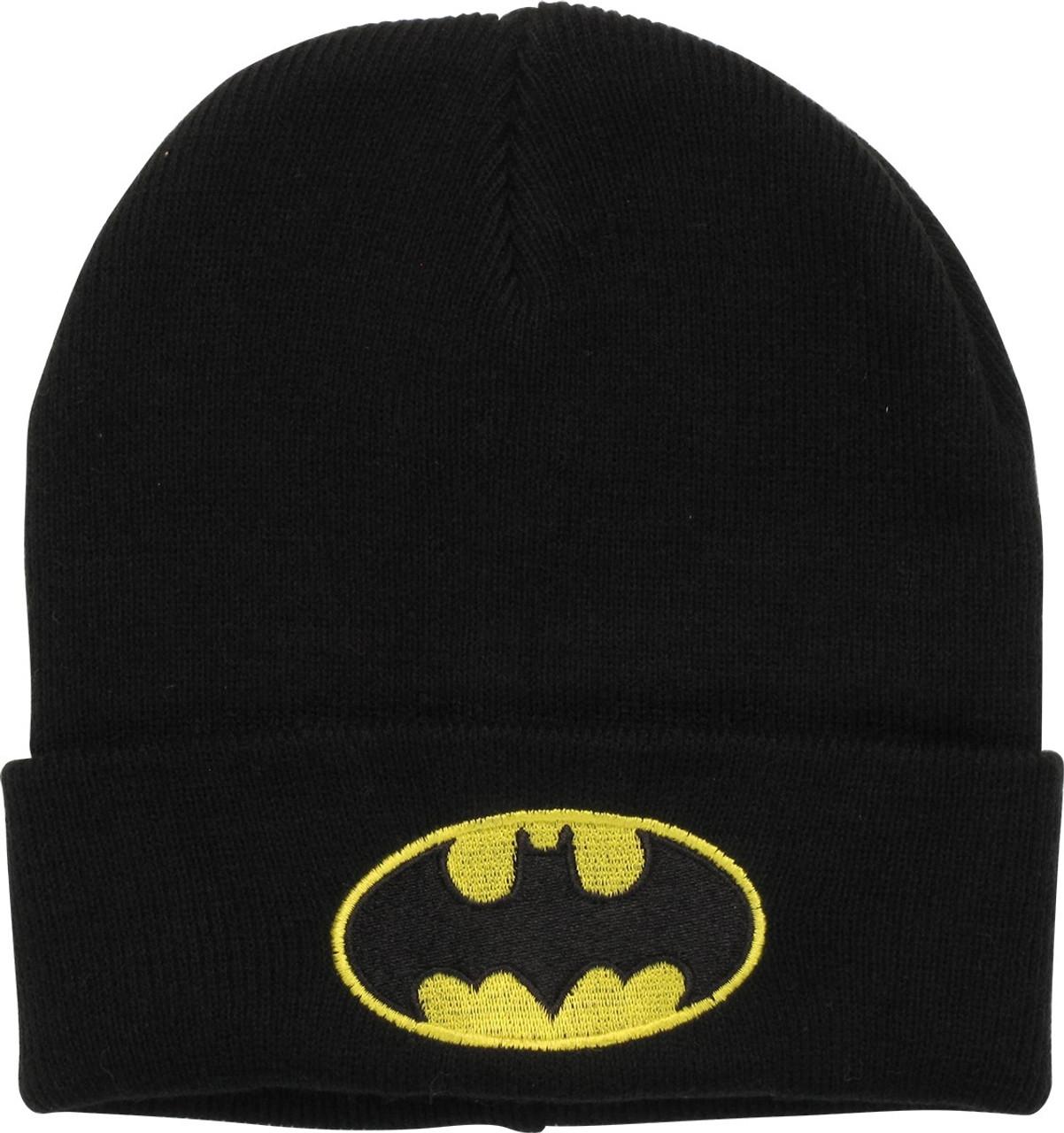 20a1ad4e1f2 Batman Basic Logo Cuff Beanie