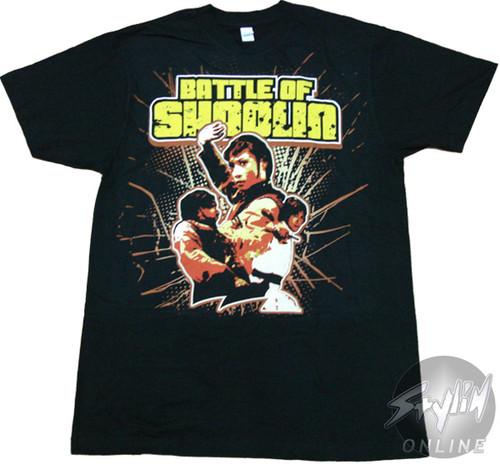 Battle of Shaolin Trio T-Shirt Sheer