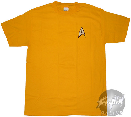 Star Trek Captain Kirk T-Shirt