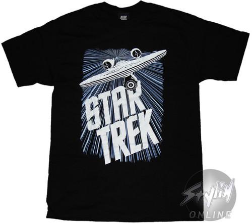 Star Trek Enterprise Warp T-Shirt
