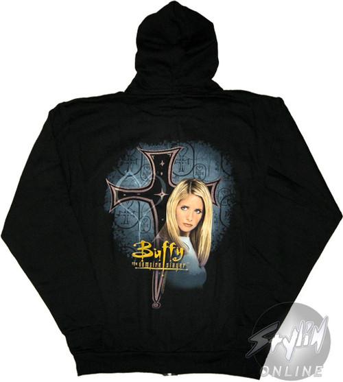 Buffy the Vampire Slayer Side Pose Hoodie