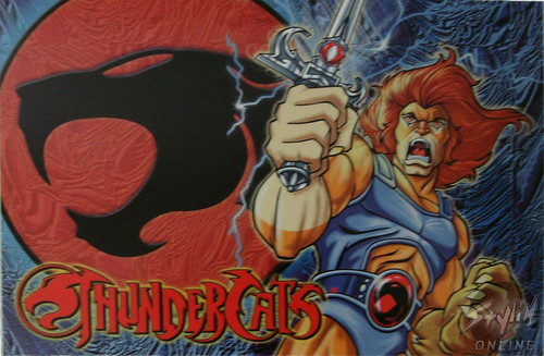 Thunder Cats Stance Postcard
