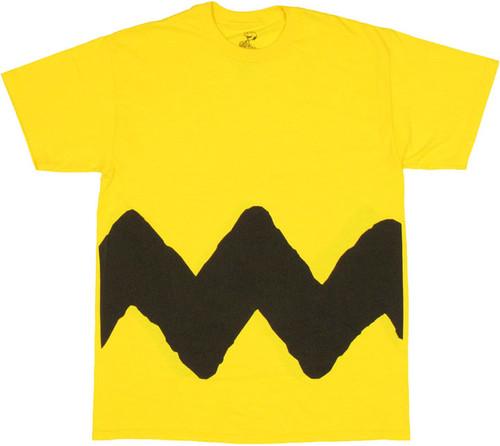Charlie Brown Zig Zag T-Shirt