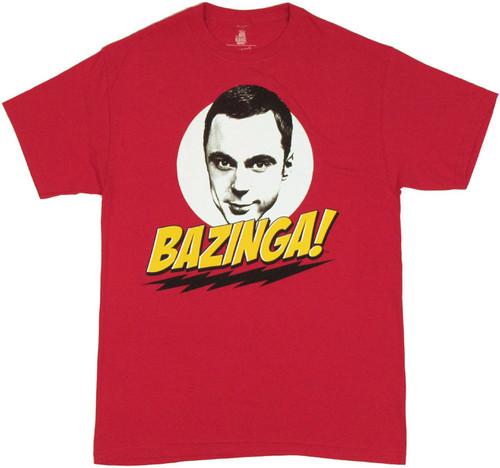 Big Bang Theory Bazinga T-Shirt
