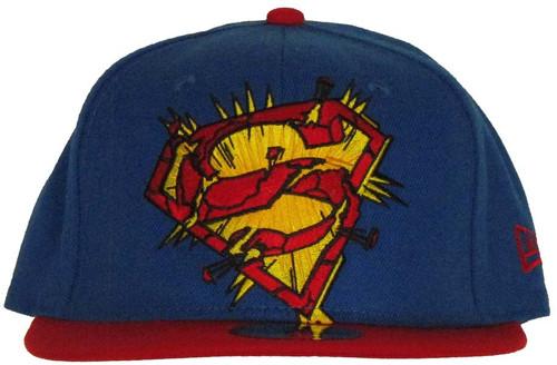 Superman Exploding Logo 59FIFTY Hat 1f850edd363