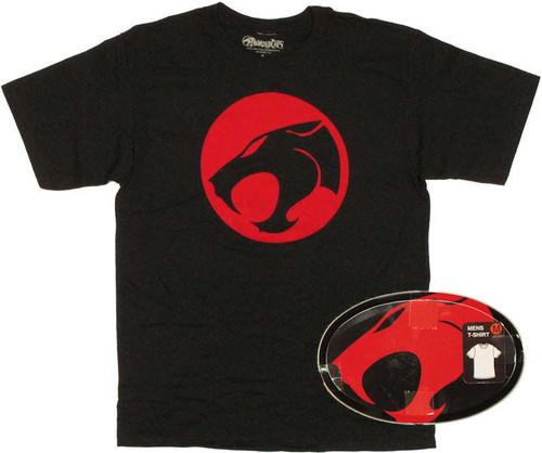 Thundercats Logo T Shirt in Tin