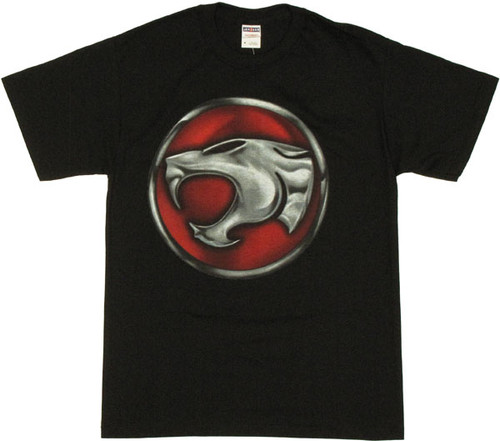 Thundercats Chrome Emblem T Shirt