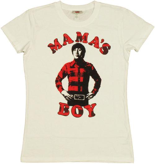 Big Bang Theory Mamas Boy Baby Tee