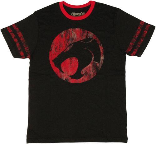 Thundercats Logo Stripes T Shirt Sheer